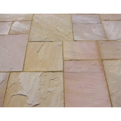 Castacrete Calibrated Sandstone Paving 15.25m2 Patio Pack - Modak