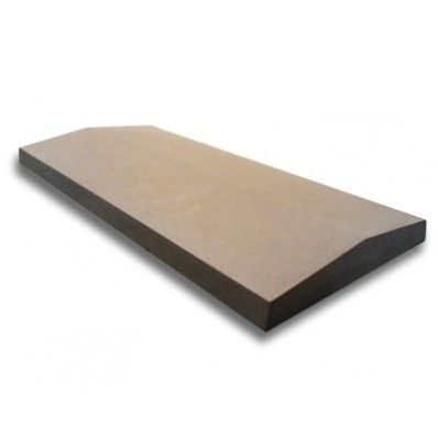 11 inch, 280mm Concrete Utility Twice Weathered Wall Coping Stone