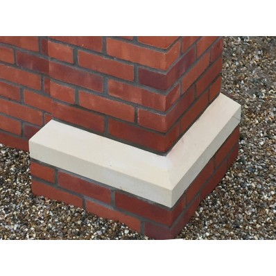 27 inch, 660mm Dry Cast Stone Base Plinth