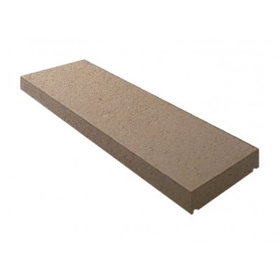 11 inch, 280mm Dry Cast Stone Flat Wall Coping Stone