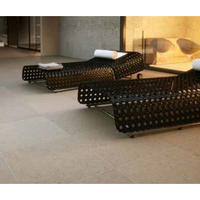 Bradstone Mode Porcelain Paving, Textured, Beige, 600x600 60 Pack