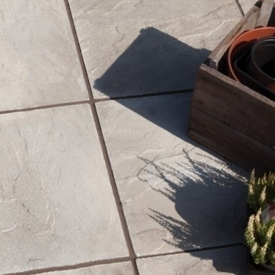 Bradstone Peak Riven Paving, Natural, 600x600 - 20 Pack
