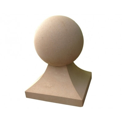 Regency Stone 15 inch Raised Sphere Finial