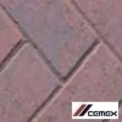 Cemex ReadyDrive 50 Driveway Block Paving 200x100, 10m2 Pack, Burnt Ember