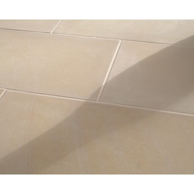 Sawn Mint Fossil, Natural Sandstone Paving 19.35m2 Patio Kit