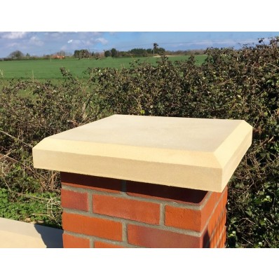 22 inch, 560mm Shallow Chamfered Pier Cap