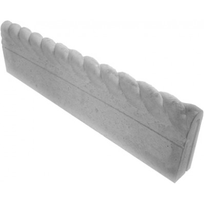 Standard Rope Stone Lawn Edging - Grey