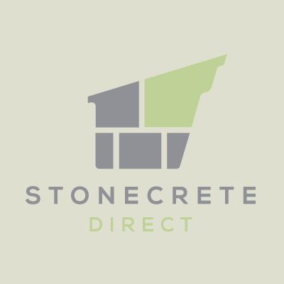 Castacrete Textured 600x600 Paving Slab, Dark Grey