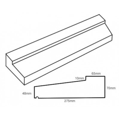 TYPE 4 Stone Slip Window Sill