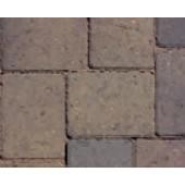 Cemex Barbican 50 Driveway Block Paving, Single Size Pack, Burnt Elm