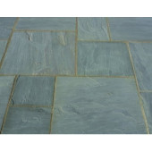 Castacrete Thin Sandstone Paving 20.43m2 Patio Pack - Grey