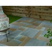 Castacrete Six Sides Sawn and Honed Sandstone Paving 14.85m2 Patio Pack - Two Tone