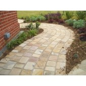 Mint Sandstone Cobbles / Setts - 12.3m2 Pack