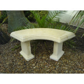 Stone Country Garden Bench