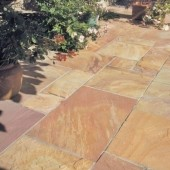 Bradstone Natural Sandstone Paving, Modac, 15.30m2 Patio Pack