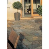 Bradstone Natural Slate Paving, Vijaya Gold, 10.20m2 Patio Pack