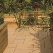 Bradstone Old Town Paving, Cotswold, 6.4m2 Patio Pack
