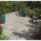 Bradstone Old Town Paving, Grey Green, 2 Ring Circle, 2.8m Diameter