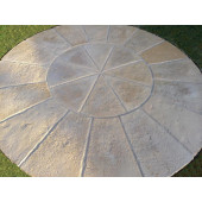 Olde York Circle 1.8m - Worn Limestone
