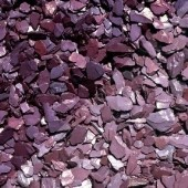 10-20mm Plum Slate Decorative Aggregate, 25KG
