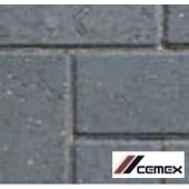 Cemex ReadyDrive 50 Driveway Block Paving 200x100, 10m2 Pack, Charcoal
