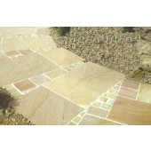 Autumn Mix, Natural Sandstone Patio Kit