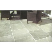 Light Grey, Natural Sandstone Patio Kit