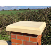 31 inch, 790mm Shallow Chamfered Flat Pier Cap