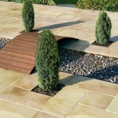 Bradstone Smooth Natural Sandstone Paving, Modac, 15.30m2 Patio Pack