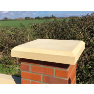 12 inch, 305mm Shallow Chamfered Flat Pier Cap