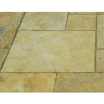 Castacrete Calibrated Limestone Paving 15.25m2 Patio Pack - Yellow