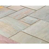 Castacrete Calibrated Sandstone Paving 15.25m2 Patio Pack - Panther