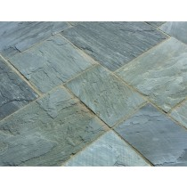 Castacrete Calibrated Sandstone Paving 15.25m2 Patio Pack - Sagar Black