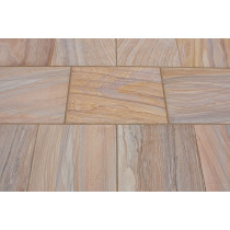 Castacrete Six Sides Sawn and Honed Sandstone Paving 14.85m2 Patio Pack - Rainbow