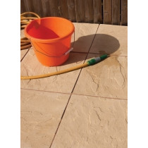 Bradstone Peak Riven Paving, Buff