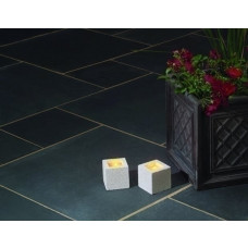 Castacrete Calibrated Limestone Paving 15.25m2 Patio Pack - Black