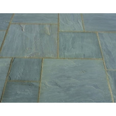 Castacrete Calibrated Sandstone Paving 15.25m2 Patio Pack - Grey