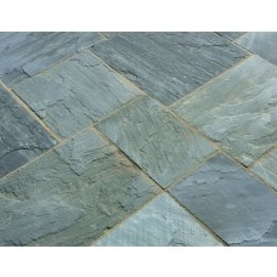 Castacrete Calibrated Sandstone Paving 15.25m2 Patio Pack - Sagar Black
