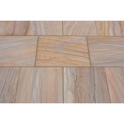 Castacrete Six Sides Sawn and Honed Sandstone Paving 14.85m2 Patio Pack - Rainbow
