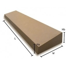 7 inch 180mm Dry Cast Stone Utility Once Weathered Wall Coping