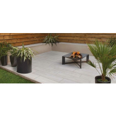 Bradstone Madera Porcelain Paving, Birch, 900 x 225, 96 Pack