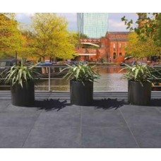 Bradstone Mode Porcelain Paving, Textured, Graphite