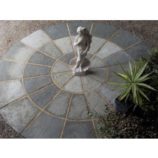 Olde York 1.8m Circle Patio Kit - Grey Green