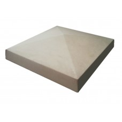 18 inch, 460mm Concrete Utility Pier Cap
